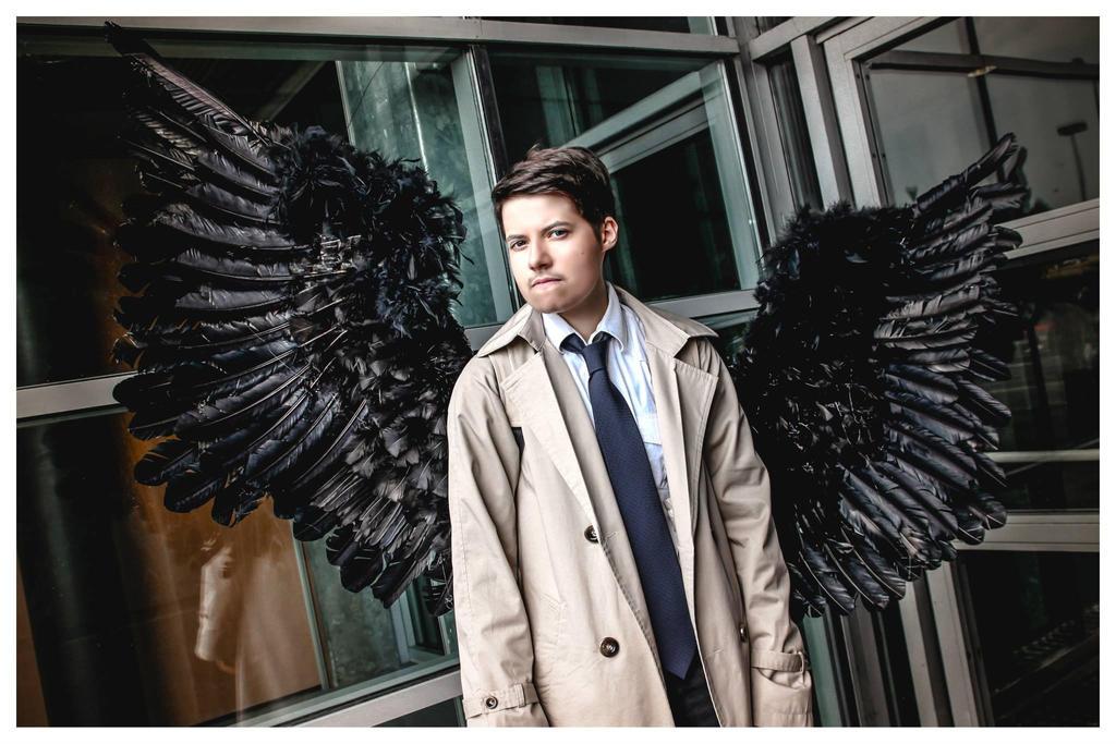 Supernatural - Castiel 'Icarus' by Hirako-f-w