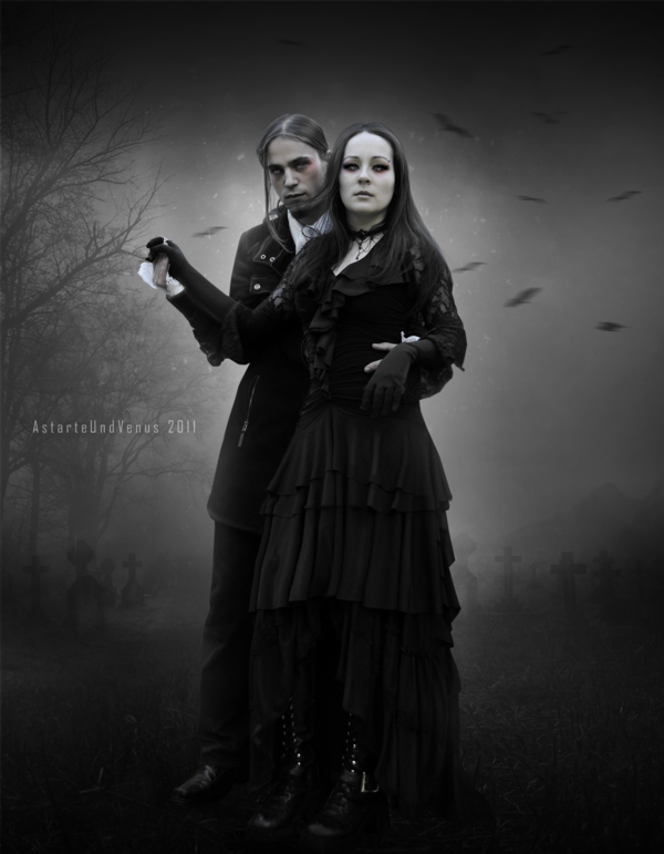 Resultado de imagem para amor gótico