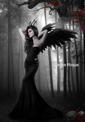 Princess of Shadows by DenysDigitalArtwork