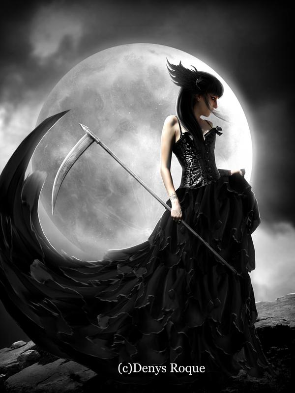 Dama De La Muerte By DenysRoqueDesign On DeviantArt