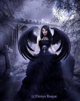 Corvus Queen by DenysDigitalArtwork