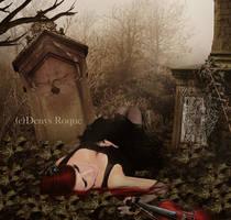 La dama y su violin by DenysDigitalArtwork