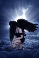 El angel by DenysDigitalArtwork