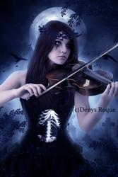 Melodia Nocturna I by DenysDigitalArtwork