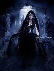 La Dama de Negro by DenysDigitalArtwork