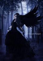 Lady Raven II by DenysDigitalArtwork
