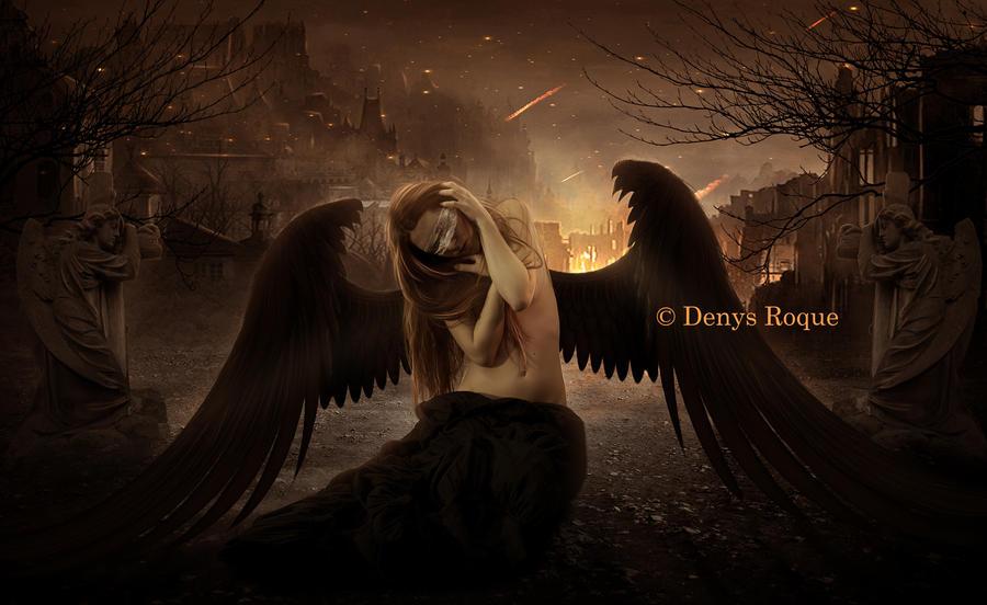 Dark Angel by DenysDigitalArtwork