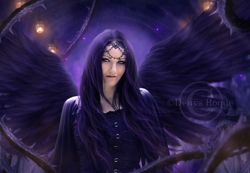 Eve TheGothicAngel by DenysRoqueDesign