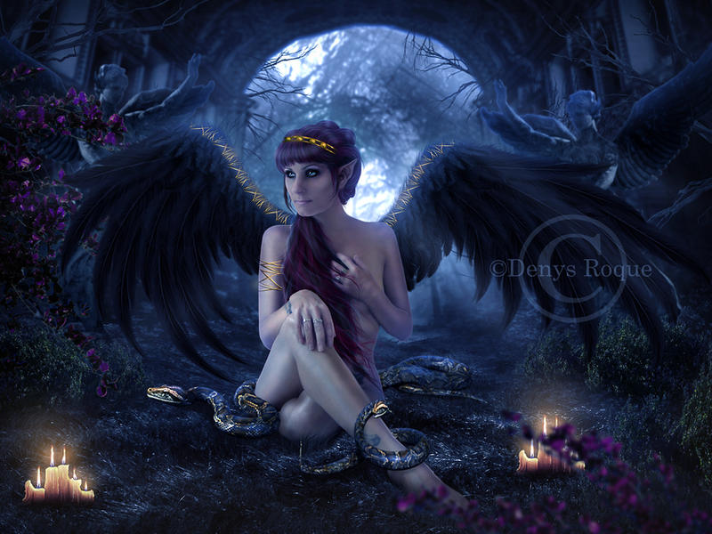 Goddess of the Elves by DenysRoqueDesign