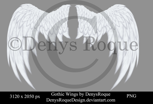 GothicWingsB by DenysRoqueDesign by DenysRoqueDesign