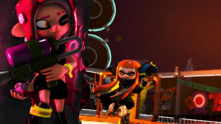 IA3 and Agent8 by JackTheKiD87