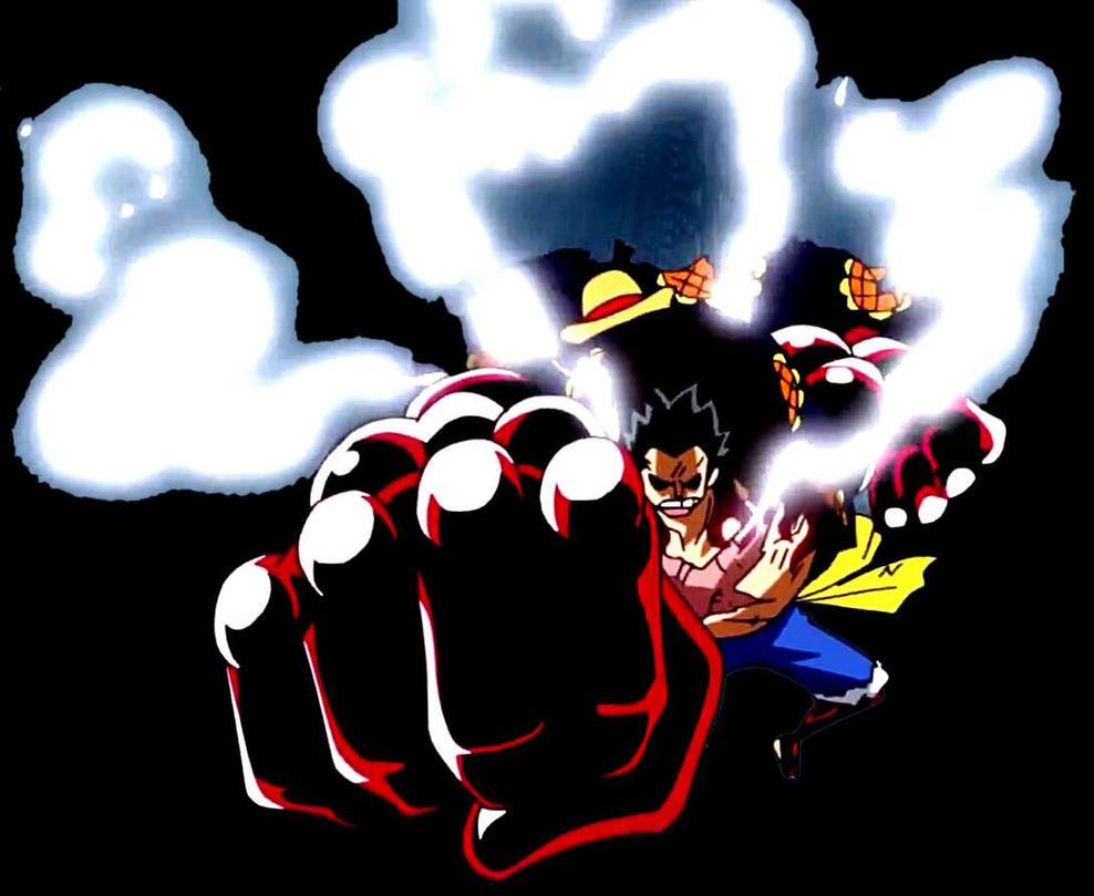 Luffy Gear 4 Render/PN... One Piece Wallpaper Luffy Gear Fourth