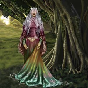 Alexia, Queen of the Elves