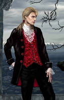 The Vampire Lestat - Closeup by gothika248