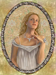 Galadriel and the Ring by gothika248