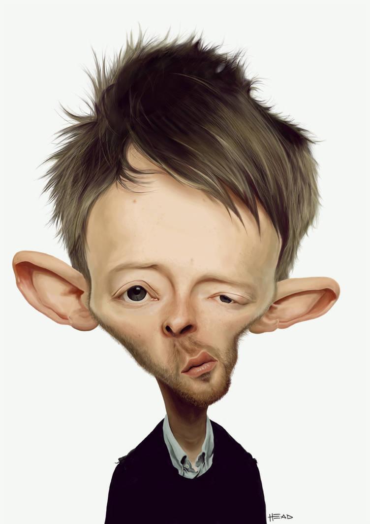 Thom Yorke by manohead