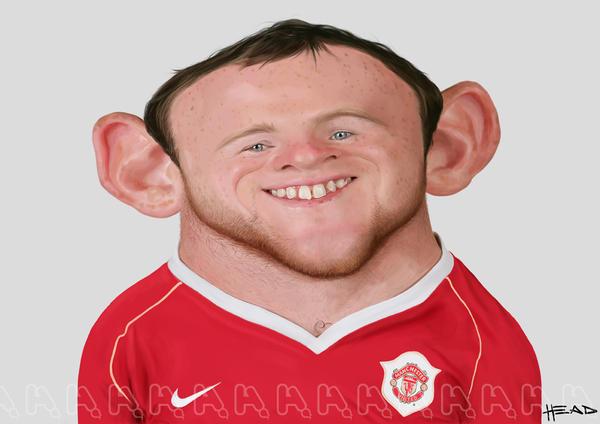 Wayne Rooney by manohead