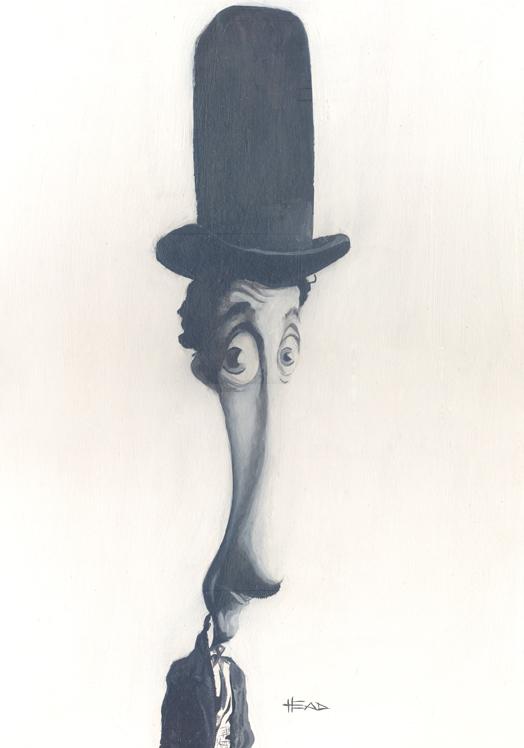 Charlie Chaplin by manohead