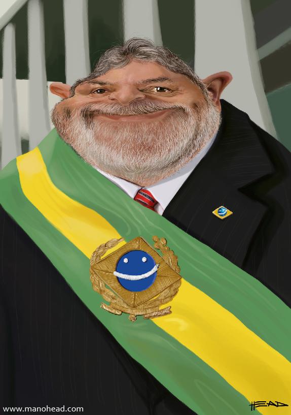 Luiz Inacio Lula da Silva by manohead