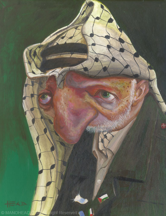 Yasser Arafat by manohead