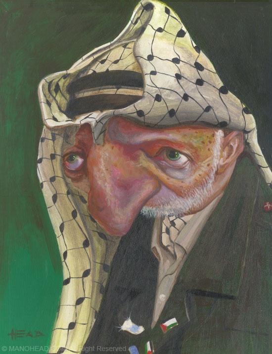 Yasser Arafat by manohead