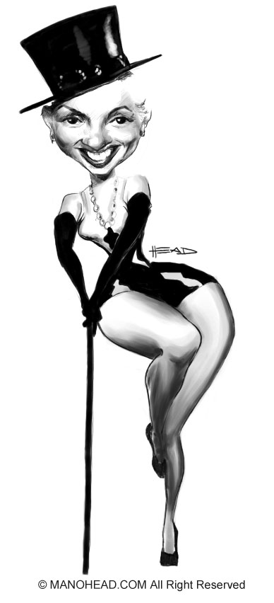 MarilynMonroePinup by manohead