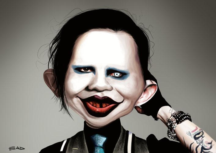 MAD Manson by manohead