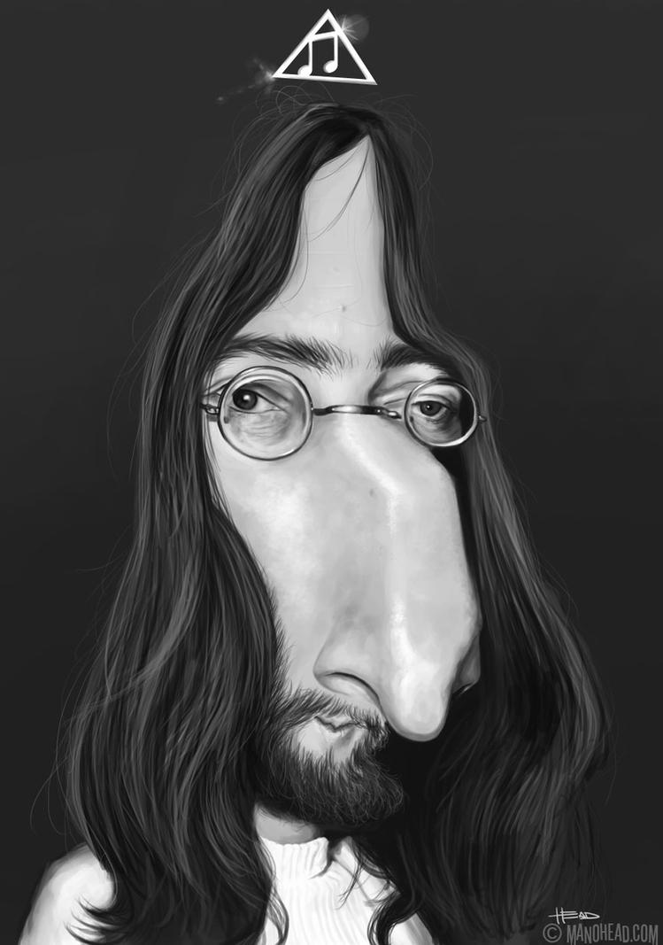 John Lennon by manohead