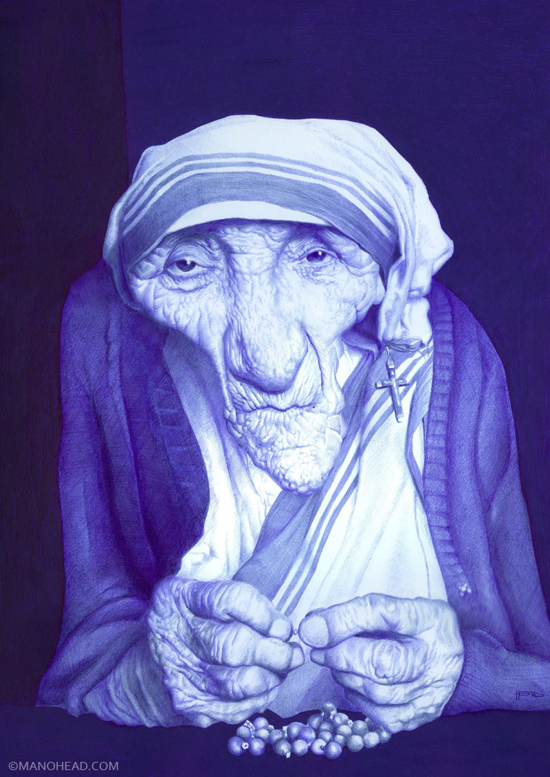 Madre Teresa by manohead