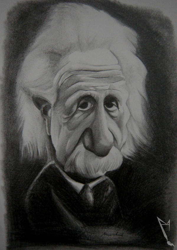 Albert Einstein by manohead