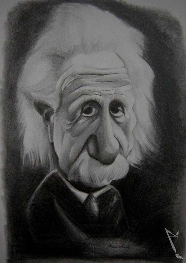 Albert Einstein by manohead