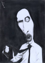 Manson Caricature by manohead