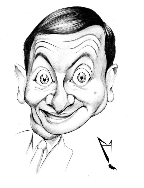 Rowan Atkinson by manohead