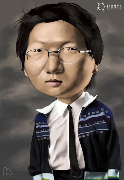 Hiro Nakamura by manohead