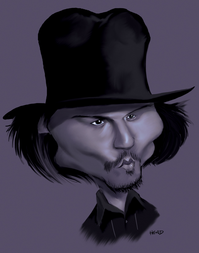 Johnny Depp by manohead