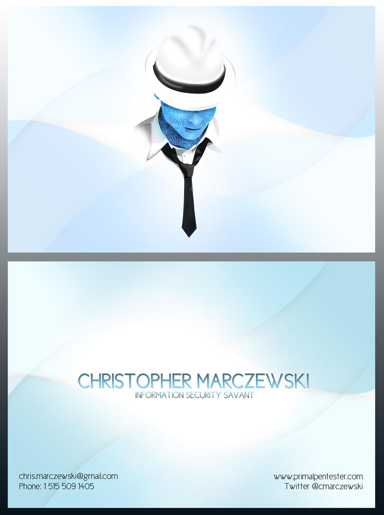 Security Business Card by Marczewski-Media on DeviantArt