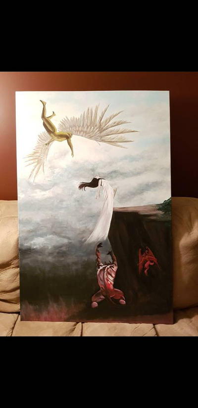 Heaven vs. Hell (in progress) by TheJennaBrown