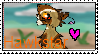 Hawkstar Stamp (Gift for: Hawkstar-Kitty) by XxStarryEyedMoonxX