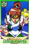 Sailor Jupiter, Super Sailor Moon and Chibi Moon