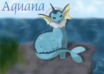 Pokemon Aquana o. Vaporeon