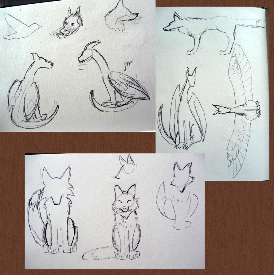 Woodcut Ideas by Imaginary-Shadow