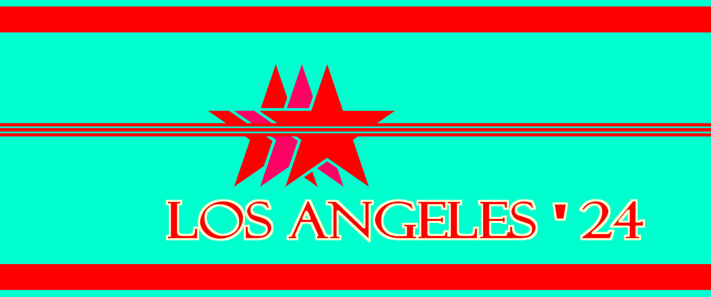 Los angeles 2024 logo design v 2 by rogermcm233 on Logo designers los angeles