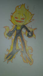 Inferno the Sun Demon by EnderSpear10