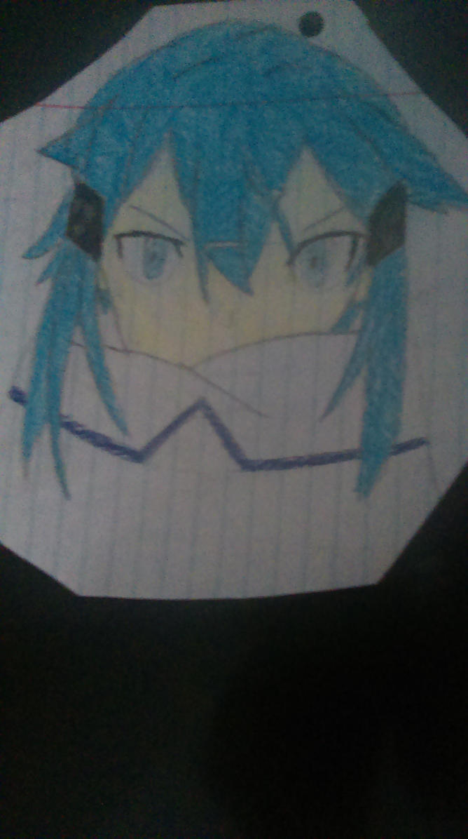 Sinon Drawing With Colors By Synthmix On DeviantArt