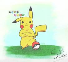Pikachu Indigo League by Skaterblog