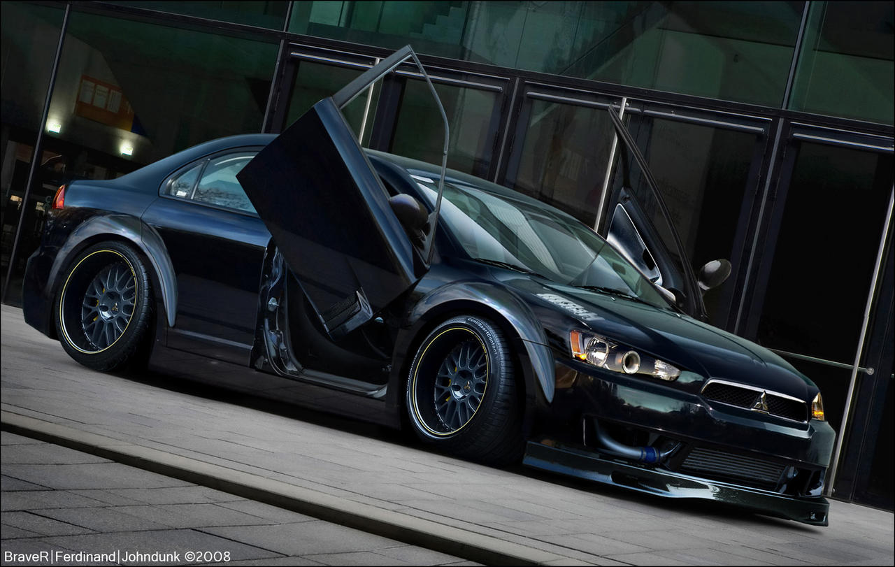 ... Mitsubishi Lancer GTS By Braver Art