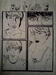 Self Portrait (Bad Latte Portrait Study)