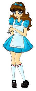 Dinah in Wonderland