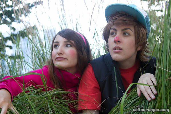 Spies: Gravity Falls by Satsori