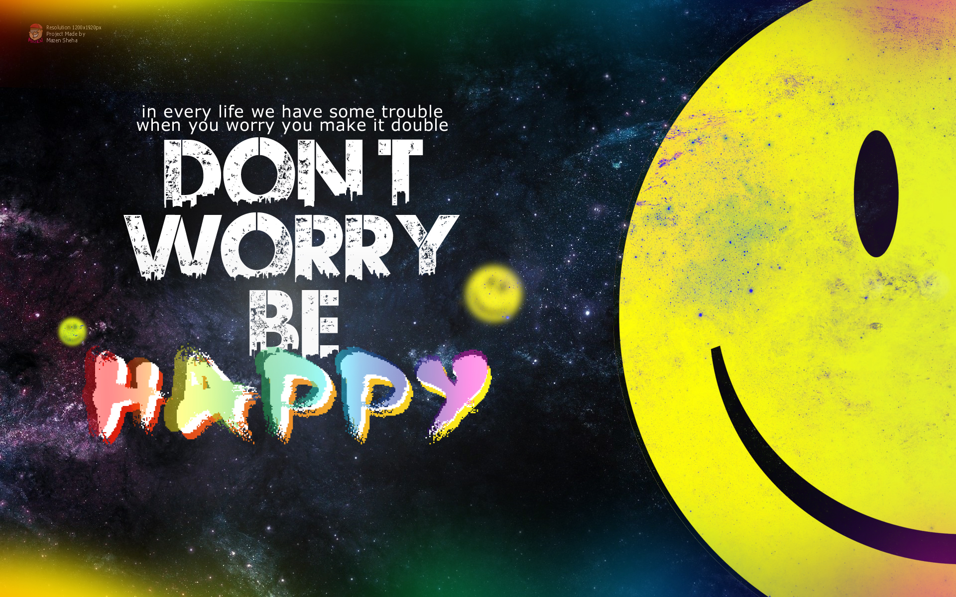 "dont worry be happy essay Worry quotes quotes tagged as  ""don't waste your time in anger, regrets, worries, and grudges life is too short to be unhappy""  and they'll be happy ."